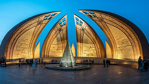 <p>                 Pakistan Monument, Islamabad<br></p>