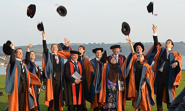 <p>CSCAN PhD students graduate in 2014</p>
