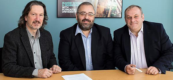 University of Plymouth signs agreement with Information Risk Management Ltd to address maritime cyber security