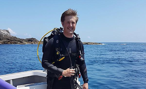 Chart Dr Ben Harvey's journey from the South West to the Far East and discover his passion for marine ecology along the way
