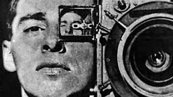 <p>Man with a movie camera</p>