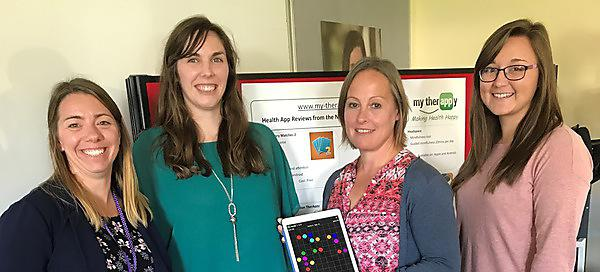 Testing apps to help stroke and brain injury patients