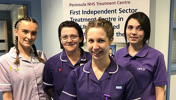 Promotion to ward manager for nursing graduate