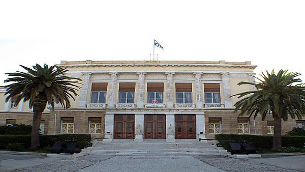 <p>The Hellenic National Defence College in Athens, Greece.</p>