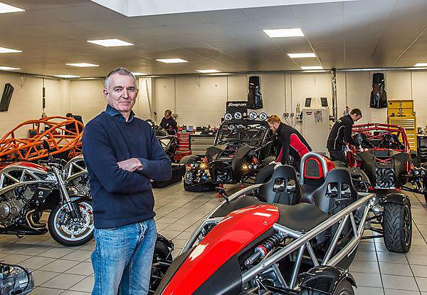 <p>Ariel Motor Company Managing Director Simon Saunders. Photo by Neil Phillips<br></p>