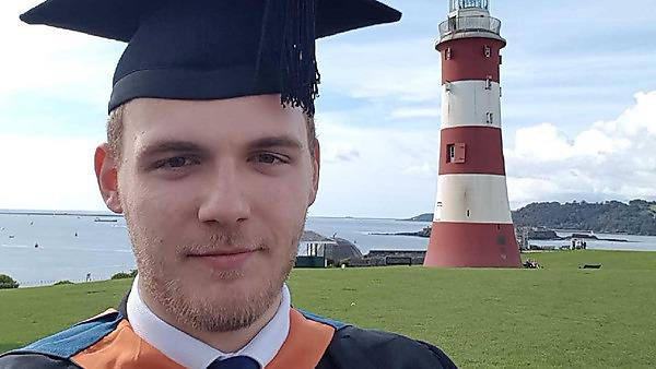 Christopher Brake - BSc (Hons) Computer and Information Security graduate