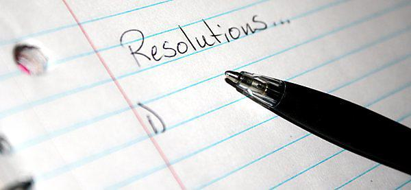 <p>New Year resolutions</p>