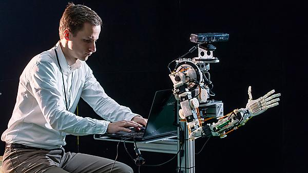 <p>Robotics research at the University of Plymouth</p>