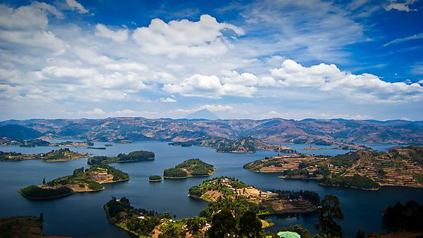 <p>Overview of Lake Bunyonyi, Kabale, Uganda</p>