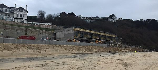 <p>Development at Carbis Bay</p>