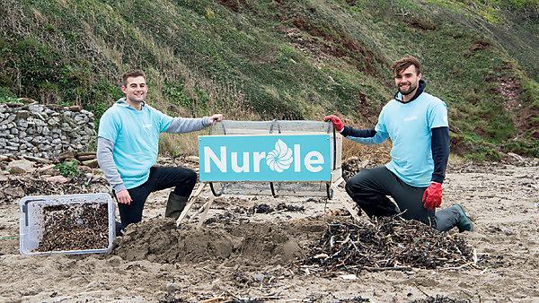 BSc (Hons) Environmental Science graduates Jeff Lamb and Josh Beech