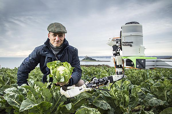 University spinout receives increased support to develop agricultural robots