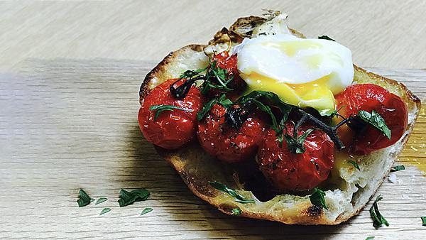 <p>Tomato brunch at the Reservoir Café 