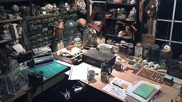 <p><i>Artist's Studio</i> – Duncan Cameron</p>