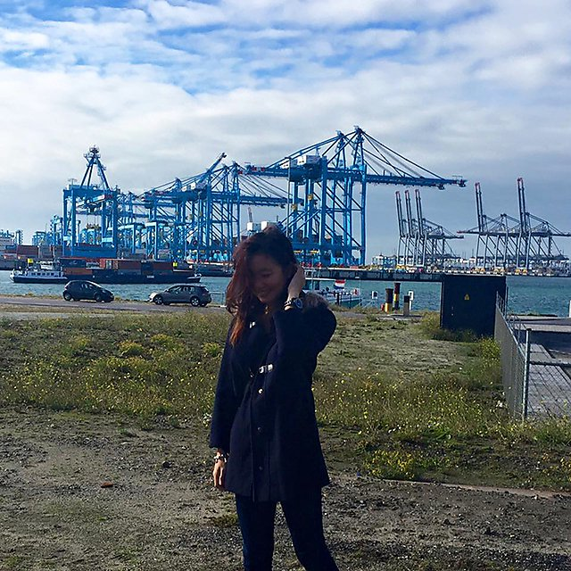 <p>Port of Rotterdam, Maasvlkte<br></p>