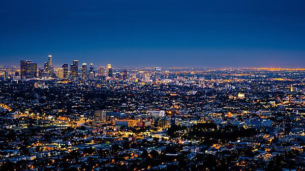<p>Los Angeles skyline</p>