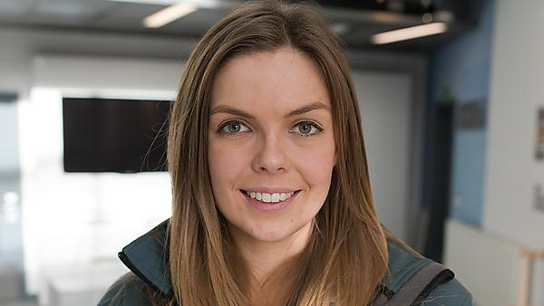 History graduate Chloe Griffin, returns to talk to current students about her job working as theOperations Supervisor of Cheddar Gorge and Caves.
