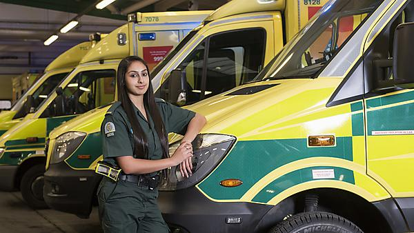 A great foundation for becoming a paramedic
