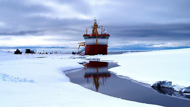 <p>Fraser Gould spends a year as the doctor for the RSS Ernest Shackleton</p>