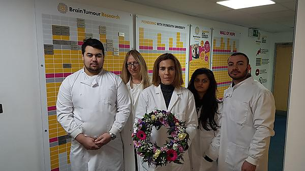 Researchers join UK brain tumour community in falling silent to remember lives lost