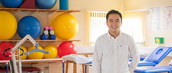 <p>Matt Chan, student on the MSc Occupational Therapy (Pre-Registration) conversion programme</p>