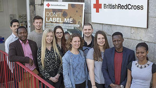 National campaign on refugee family reunion supported by University of Plymouth and Red Cross partnership