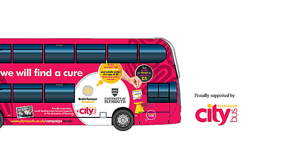 Brain Tumour Research Citybus launch