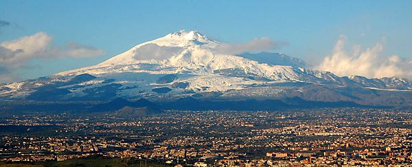 Did highest known sea levels create the iconic shape of Mount Etna?