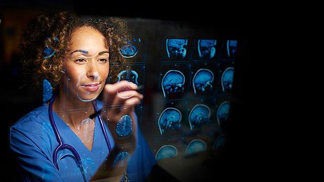 <p>Brain scans stock image</p>