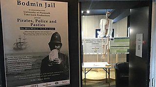 Bodmin Jail Museum in association with the Timelock team are hosting an exhibition  Pirates Police and Pasties  for the Easter holidays 30 March to 8 April.  Posters, audio interpretation and downloadable interactive quiz for families to enjoy