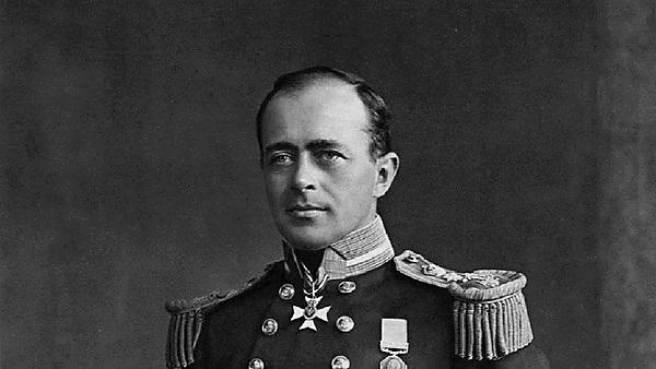 <p>Robert Falcon Scott. By Henry Maull (1829–1914) and John Fox (1832–1907) [Public domain], via Wikimedia Commons</p>