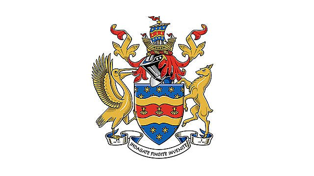 <p>University of Plymouth coat of arms</p>