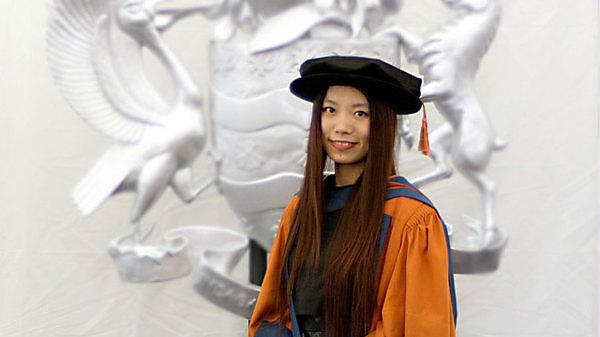 <p>Qian Chen at Graduation</p>