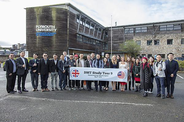 University of Plymouth welcomes entrepreneurs from Malaysia