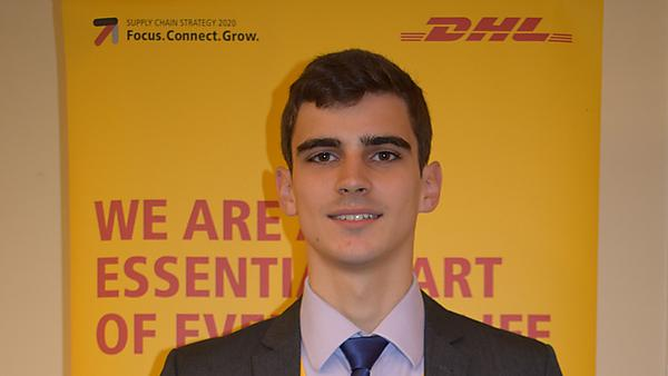 Alexander now works for DHL Supply Chain