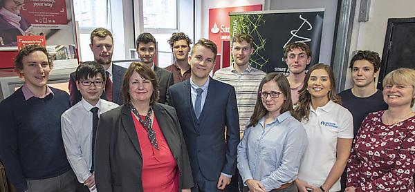 Student businesses repeat perfect success rate to make Santander Universities Entrepreneurship Awards semi-finals