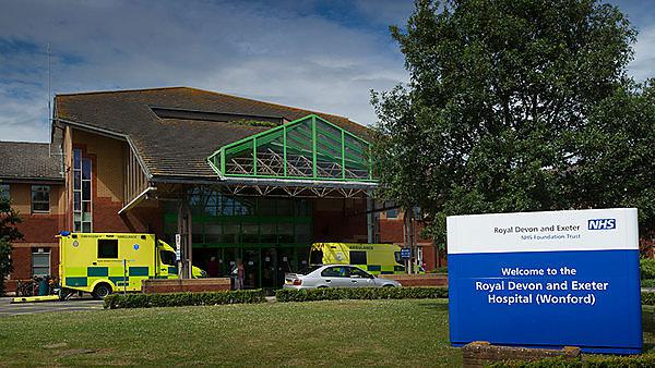 <p>Royal Devon and Exeter hospital</p>