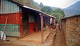 Dhanisha's host home in Kiteni (Makwanpur District)