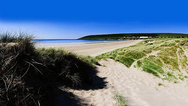 <p>Getty images. Saunton Sands beach sea</p>
