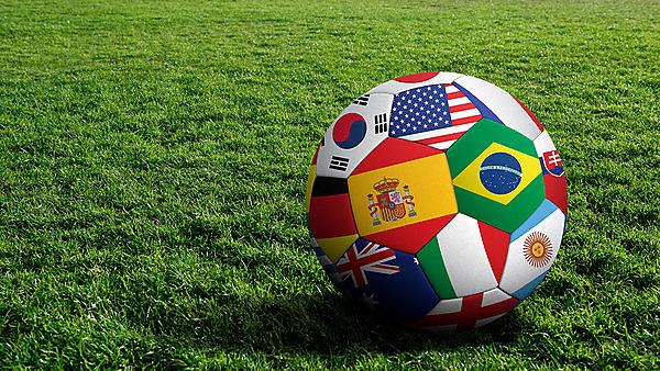 <p>World cup football</p>