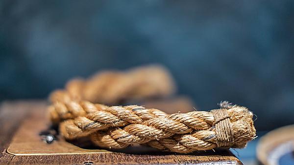 <p>Mayflower rope as featured in the first anthology of young people's writing.</p>