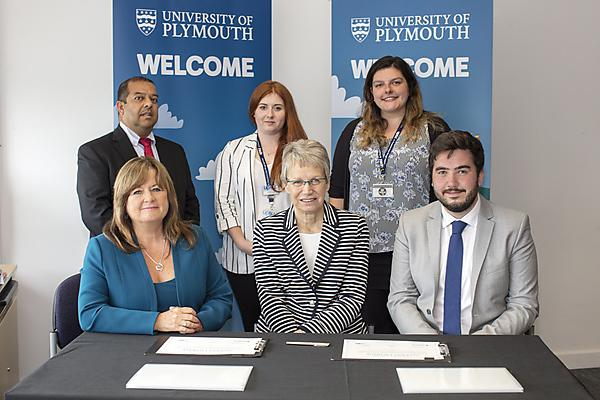 Images from the Student Charter signing event