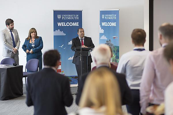 <p>Student Charter signing 2018 - JC speaking</p>