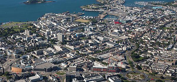 <p>Plymouth city centre</p>