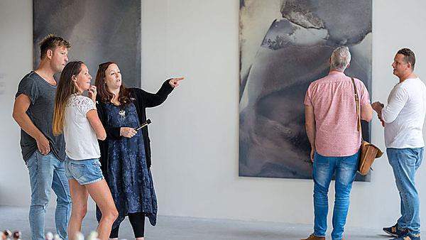 <p>2018 MA Contemporary Art Practice Graduate Show, private view   .<br></p>