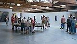 2018 MA Contemporary Art Practice Graduate Show, private view.