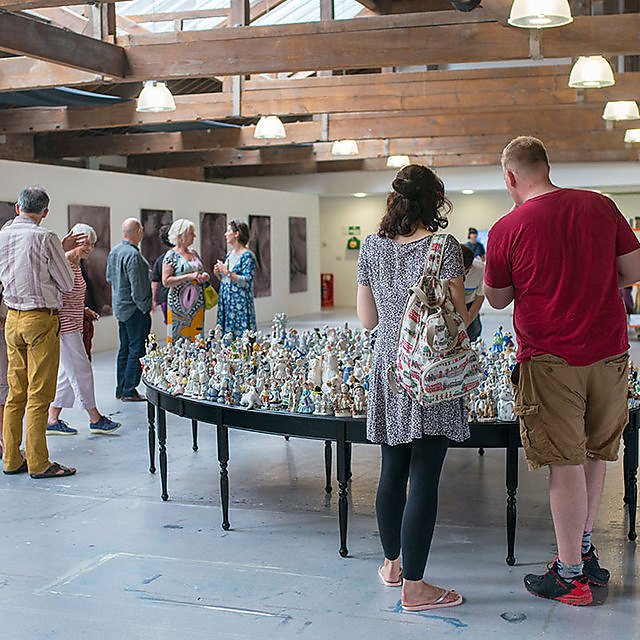 <p>2018 MA Contemporary Art Practice Graduate Show, private view.</p>