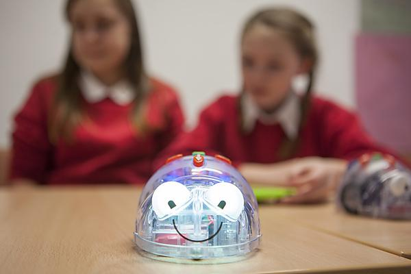 <p>Robots in education</p>
