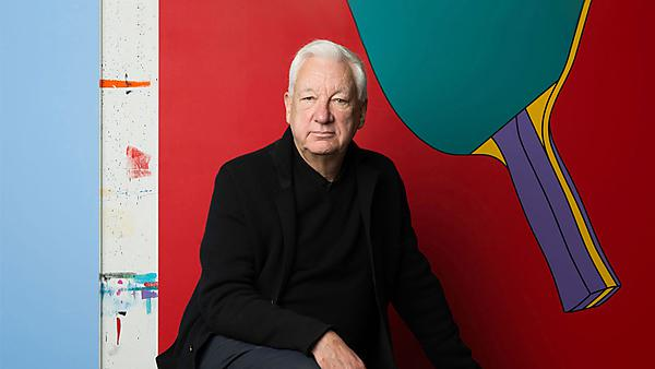 <p>Sir Michael Craig-Martin by Caroline True <br></p>