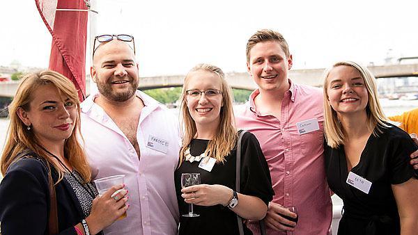 Alumni boat party. Image courtesy of Marek Sikora Photography.